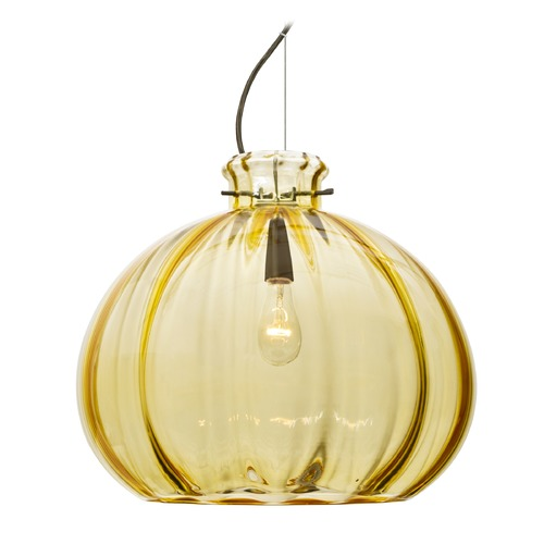 Besa Lighting Besa Lighting Pinta Bronze Pendant Light with Globe Shade 1KX-4645GD-BR