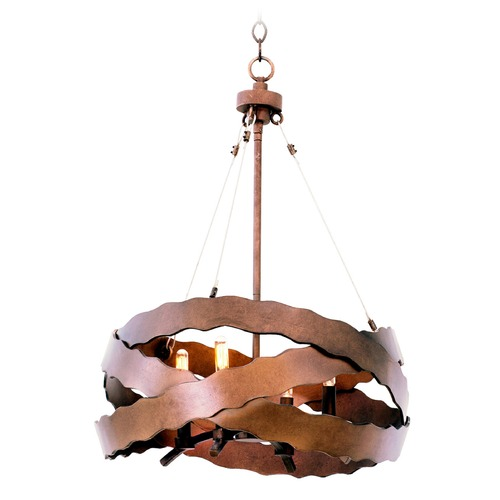 Kalco Lighting Kalco Fulton Brownstone Pendant Light 502650BS