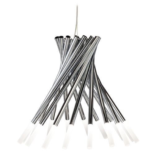 Elan Lighting Elan Lighting Phlair Chrome LED Chandelier 83283