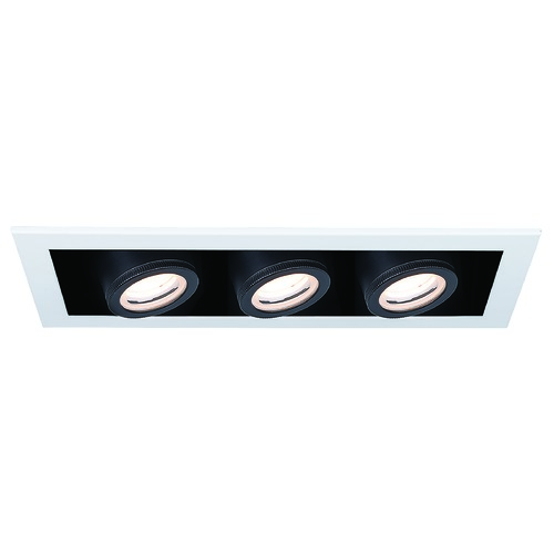 WAC Lighting Wac Lighting Silo Multiples White / Black LED Recessed Kit MT-4315T-935-WTBK