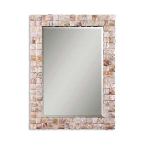 Uttermost Lighting Mother of Pearl Rectangle Mirror 12763