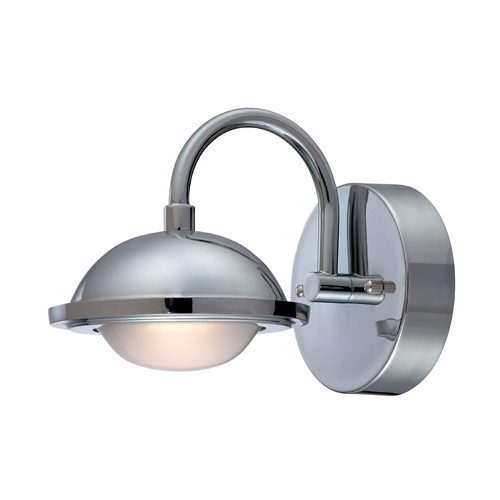 Lite Source Lighting Lite Source Lighting Dekel Chrome LED Sconce LS-16681C
