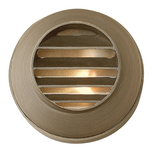 Hinkley Lighting LED Recessed Deck Light in Matte Bronze Finish 16804MZ-LED
