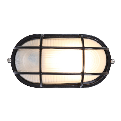 Access Lighting Access Lighting Nauticus Black Outdoor Wall Light C20290BLFSTEN1113BS