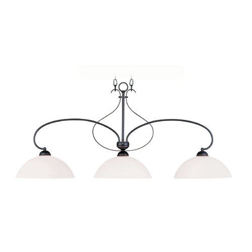 Livex Lighting Livex Lighting Brookside Olde Bronze Island Light 4783-67