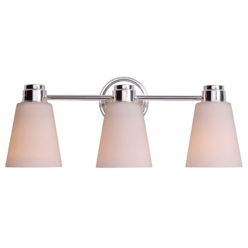 Kenroy Home Lighting Kenroy Home Lighting Rockdale Polished Nickel Bathroom Light 93473PN