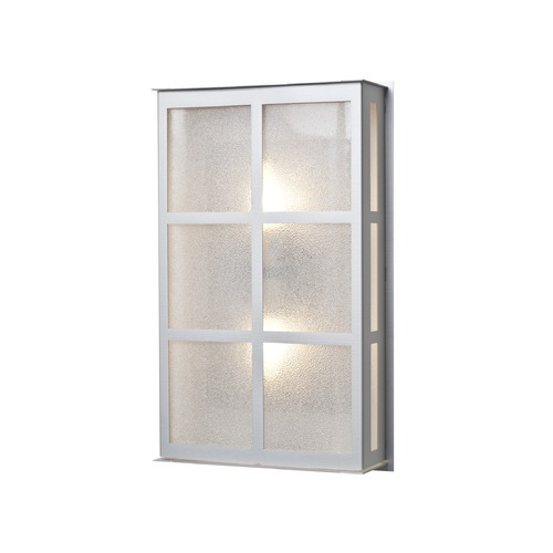 Besa Lighting Besa Lighting Bree Brushed Aluminum Outdoor Wall Light BREE16-GL-BA