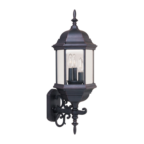 Maxim Lighting Maxim Lighting Builder Cast Empire Bronze Outdoor Wall Light 1074CLEB