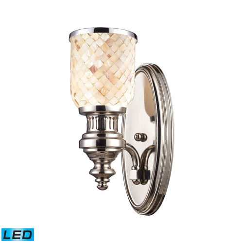 Elk Lighting Elk Lighting Chadwick Polished Nickel LED Sconce 66410-1-LED