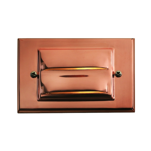 Hinkley Lighting Modern LED Recessed Deck Light in Copper Finish 1546CO-LED