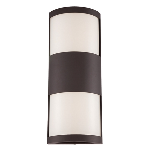 Modern Forms by WAC Lighting Modern Forms Cylo Bronze LED Outdoor Wall Light WS-W2019-BZ