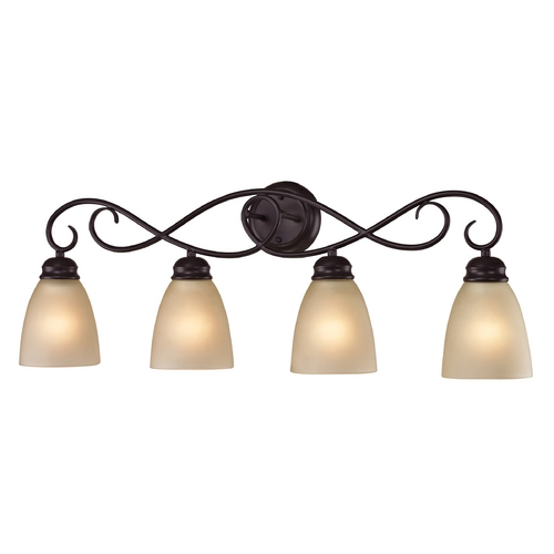 Cornerstone Lighting Cornerstone Lighting Chatham Oil Rubbed Bronze Bathroom Light 1104BB/10