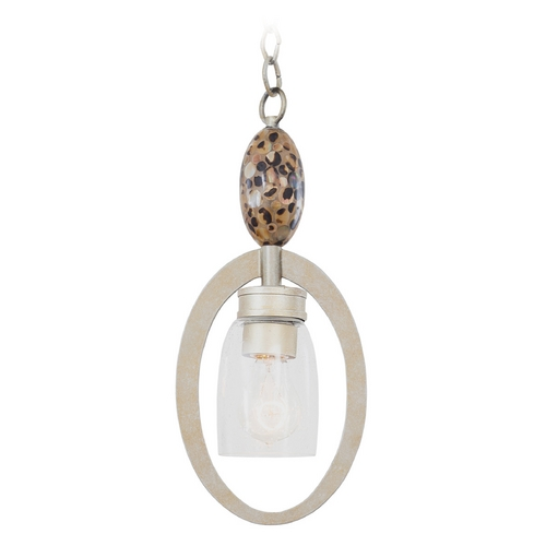 Kalco Lighting Kalco Lighting Largo Tarnished Silver Mini-Pendant Light 7216TS