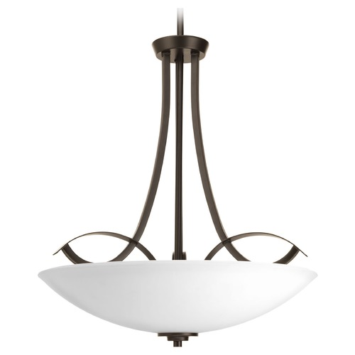 Progress Lighting Progress Lighting Merge Antique Bronze Pendant Light with Bowl / Dome Shade P3446-20