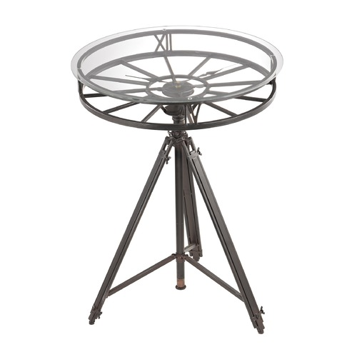 Sterling Lighting Tripod Clock Table 51-013
