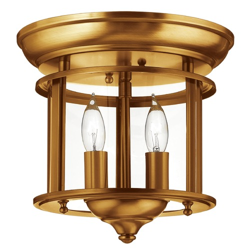 Hinkley Lighting Hinkley Lighting Gentry Heirloom Brass Flushmount Light 3472HR