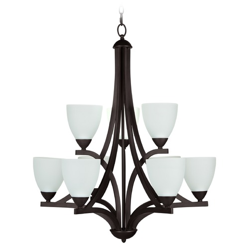 Craftmade Lighting Craftmade Almeda Old Bronze Chandelier 37729-OB-WF