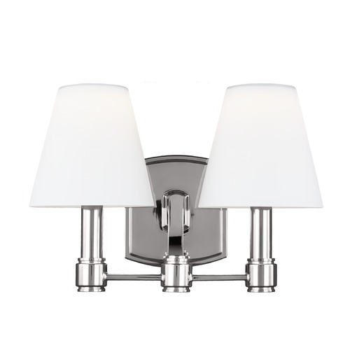 Feiss Lighting Feiss Lighting Leddington Polished Nickel LED Bathroom Light VS22302PN