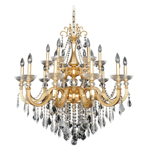 Allegri Lighting Barret 18 Light Crystal Chandelier 025453-011-FR001