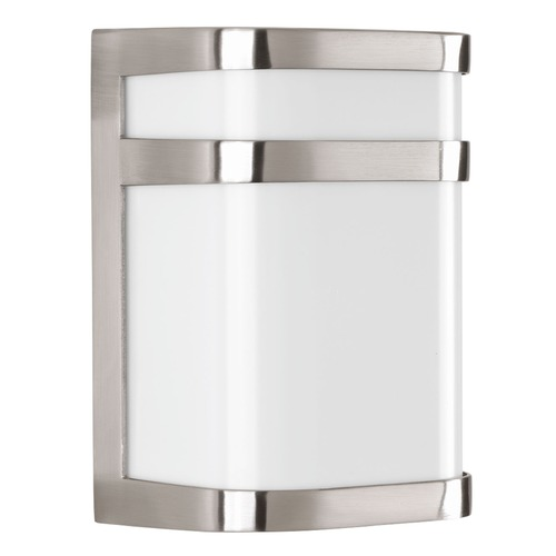 Progress Lighting Progress Lighting Valera LED Brushed Nickel LED Outdoor Wall Light P5800-0930K9