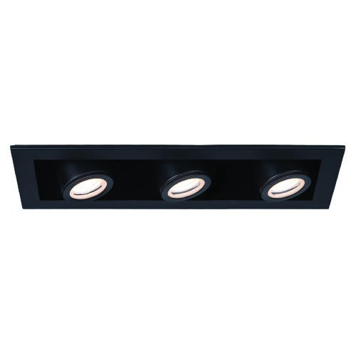 WAC Lighting Wac Lighting Silo Multiples Black / Black LED Recessed Kit MT-4315T-940-BKBK
