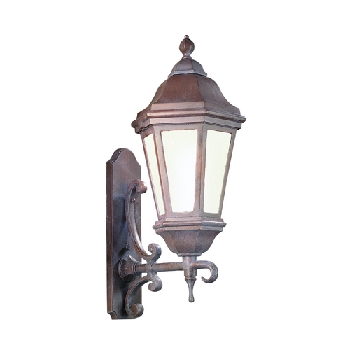 Troy Lighting Outdoor Wall Light with Clear Glass in Antique Bronze Finish BFCD6831ABZ