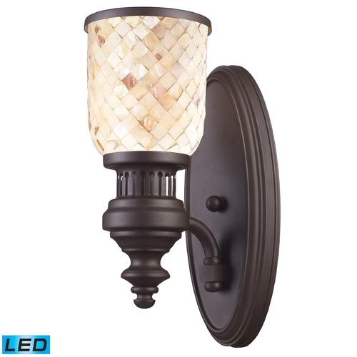 Elk Lighting Elk Lighting Chadwick Oiled Bronze LED Sconce 66430-1-LED