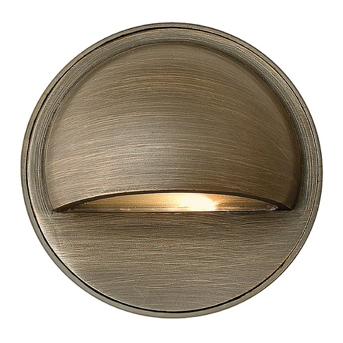 Hinkley Lighting LED Recessed Deck Light in Matte Bronze Finish 16801MZ-LED