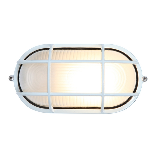 Access Lighting Access Lighting Nauticus White Outdoor Wall Light C20290WHFSTEN1113BS