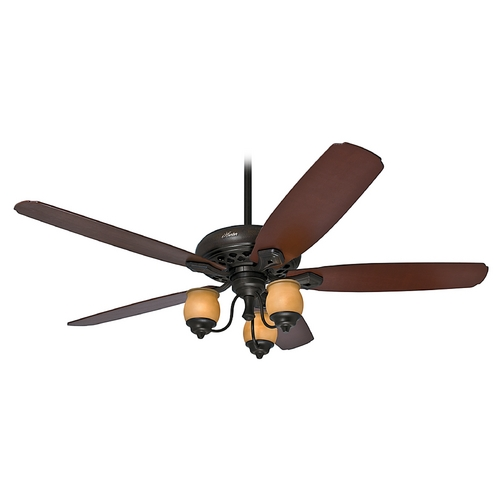 Hunter Fan Company Hunter Fan Company Torrence Provence Crackle Ceiling Fan with Light 55045