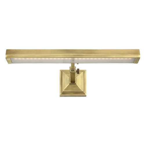 WAC Lighting Wac Lighting Burnished Brass LED Picture Light PL-LED24-27-BB
