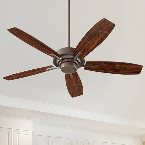 Quorum Lighting Quorum Lighting Soho Oiled Bronze Ceiling Fan Without Light 64525-86