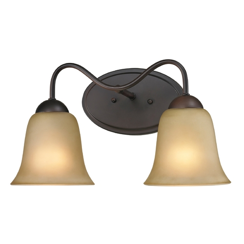 Cornerstone Lighting Cornerstone Lighting Conway Oil Rubbed Bronze Bathroom Light 1202BB/10