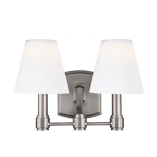 Feiss Lighting Feiss Lighting Leddington Satin Nickel LED Bathroom Light VS22302SN