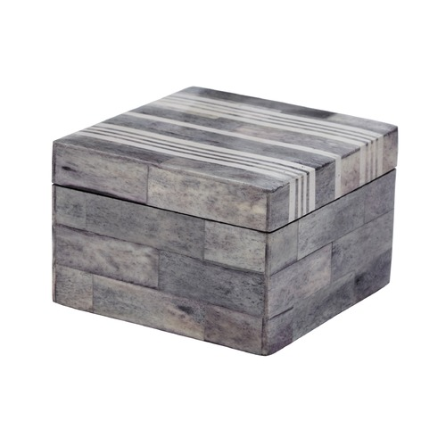 Dimond Lighting Gray And White Bone Boxes - Small 903009