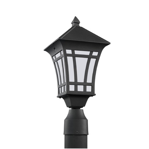 Sea Gull Lighting Sea Gull Lighting Herrington Black Post Light 89231-12