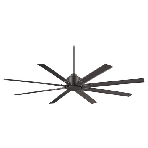 Minka Aire Minka Aire Htreme H2o 65-Inch Smoked Iron Ceiling Fan Without Light F896-65-SI