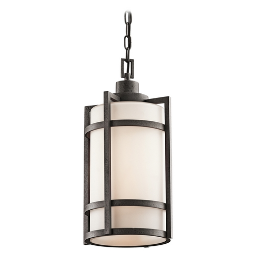 Kichler Lighting Kichler Outdoor Hanging Light in Iron Finish 49124AVI