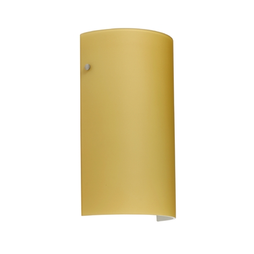 Besa Lighting Modern Sconce Wall Light in Satin Nickel Finish 7042VM-SN