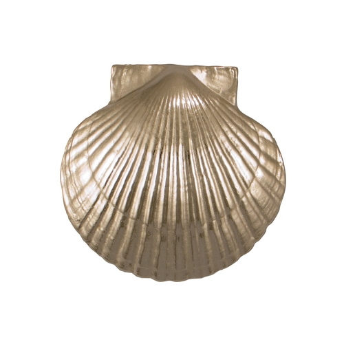 Michael Healy Sea Scallop Door Knocker in Nickel Silver Finish MH1073