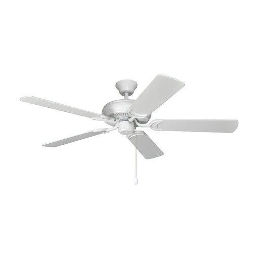 Craftmade Lighting Craftmade Lighting Decorator's Choice Matte White Ceiling Fan Without Light DCF52MWW5