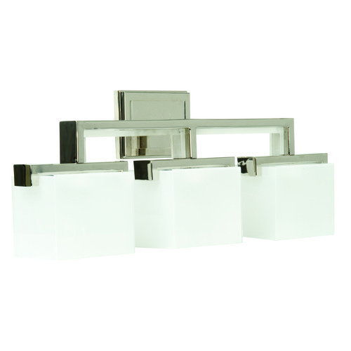 Jeremiah Lighting Jeremiah Kade Polished Nickel Bathroom Light 18226PLN3