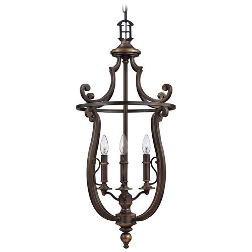 Hinkley Lighting Mini-Chandelier in Olde Bronze Finish 4254OB