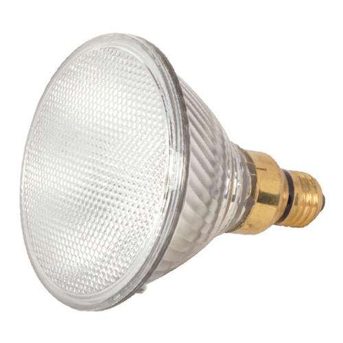 Satco Lighting Halogen PAR38 Light Bulb Medium Base Flood 30 Degree Beam Spread 3000K 120V Dimmable S2257