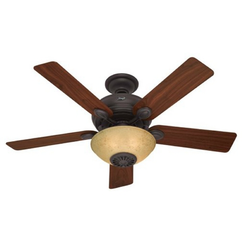 Hunter Fan Company Hunter Fan Company Westover New Bronze Ceiling Fan with Light 59033