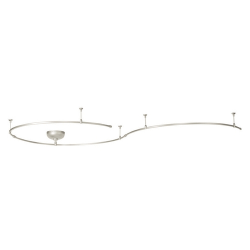 WAC Lighting Wac Lighting Brushed Nickel Rail, Cable, Track Accessory LM-SK-250E-BN