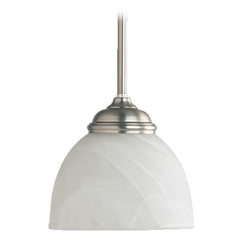 Quorum Lighting Quorum Lighting Ashton Satin Nickel Mini-Pendant Light 3135-65