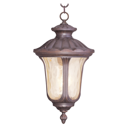 Livex Lighting Livex Lighting Oxford Imperial Bronze Outdoor Hanging Light 7665-58
