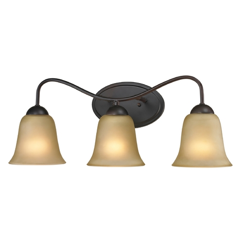 Cornerstone Lighting Cornerstone Lighting Conway Oil Rubbed Bronze Bathroom Light 1203BB/10