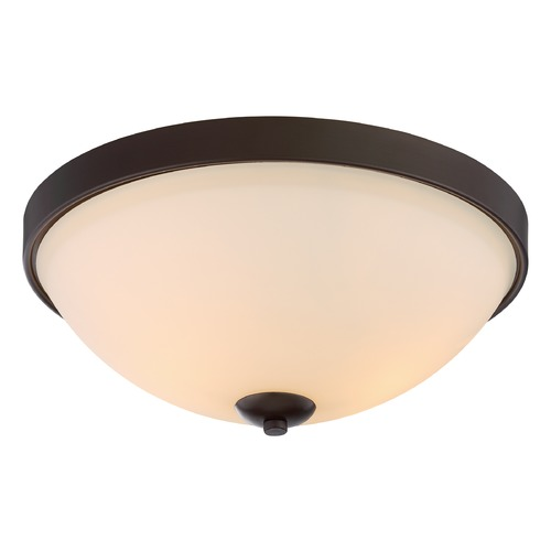 Nuvo Lighting Nuvo Lighting Dillard Aged Bronze Flushmount Light 60/5914